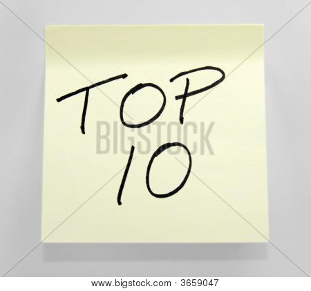 Top 10 Note