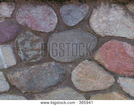 Multi-color Masonry Wall