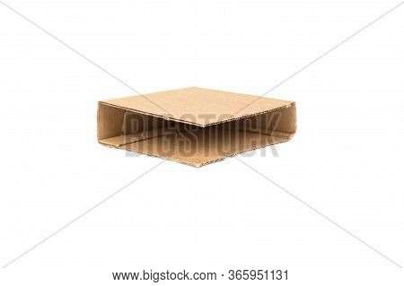 Corrugated Cardboard Edge Protector For Protection Goods Durind Transportation Isolated On White Bac