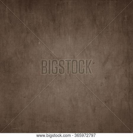 Brown Abstract Hessian Or Sackcloth Fabric Or Hemp Sack Texture Background. Wallpaper Of Artistic Wa