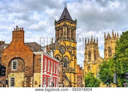 York Oratory And York Minster - England, Uk