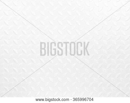 Metal Floor Plate With Diamond, Patternmetal Floor Plate With Diamond Pattern, Detail Of The Pattern
