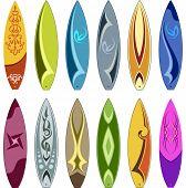 Surf Board Design poster