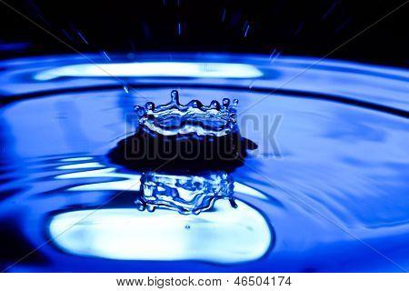 Water Drop And Water Splash.