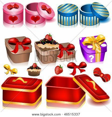 Decoration Box Icons