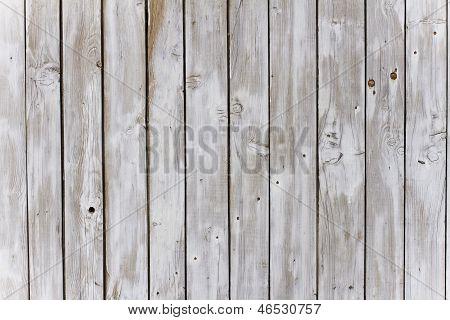 Weathered Lattice Fence