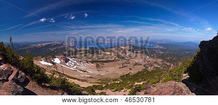 44 Megapixel Panorama Of Crater Lake