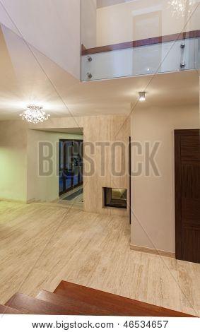 Travertine House - Hallway
