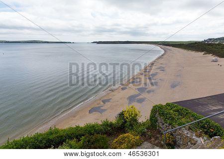 Tenby South beach Pembrokeshire Wales