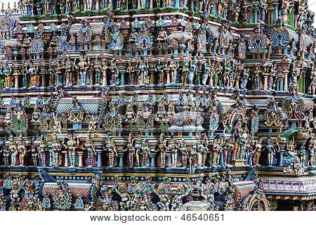 Indian Temple Detail