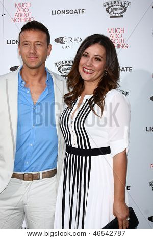 LOS ANGELES - JUN 5:  Joshua Zar, Emma Bates arrives at the