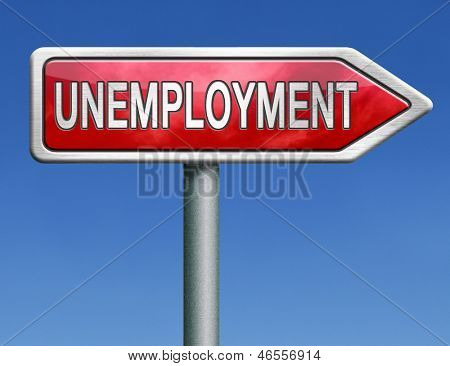 unemployment rate loose job loss joblessness jobless caused by recession