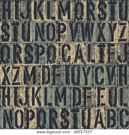 letterpress seamless background. Raster version, vector file available in my portfolio.