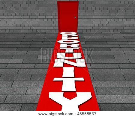 Door way to better opportunity