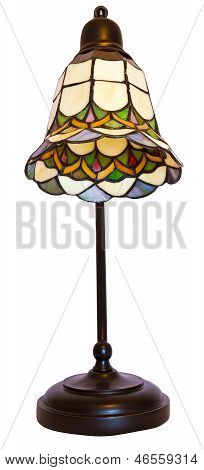 Tiffany Stained Glass Table Lamp