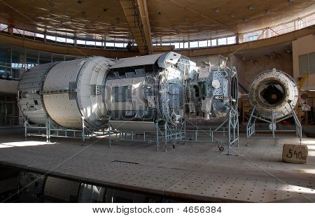 International Space Station Russian Segment Mockup At The Star City Hydrolab