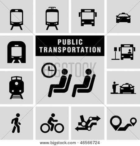 Public transportation set