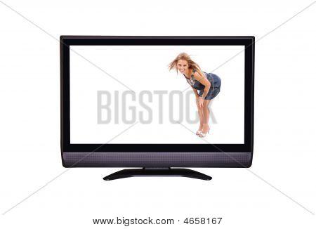 Woman In Tv