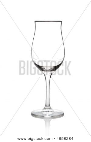 Isolated Glass Cup