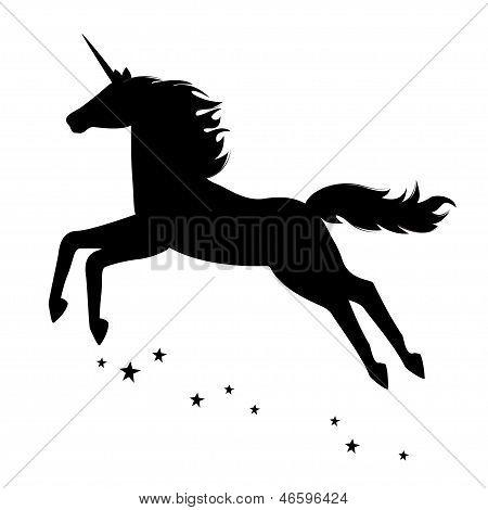 Beautiful  magical unicorn.