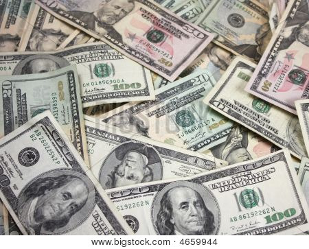 Pile Of Money - Dollars