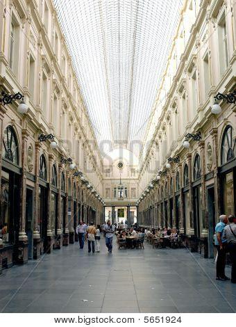 St Hubert Royal Galleries, Brussels, Belgium.