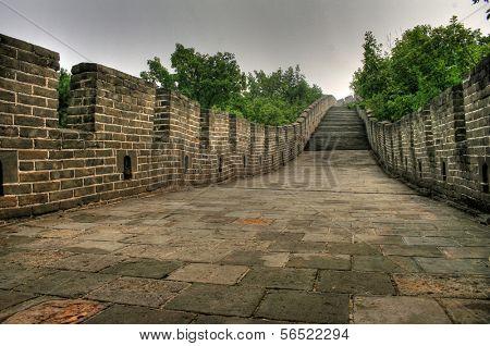 Great Wall of China at Mutianyu near Beijing