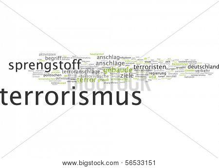 Word cloud -  terrorism