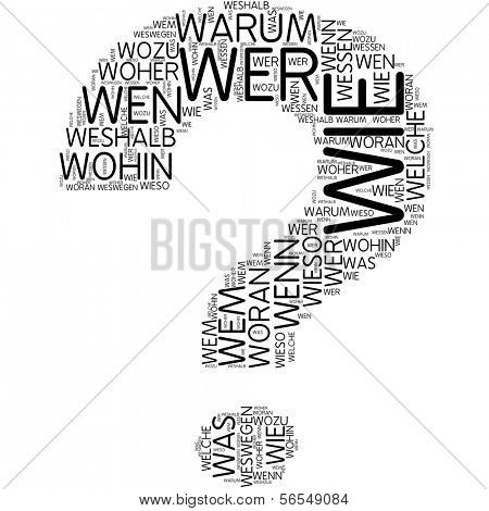 Word cloud - question