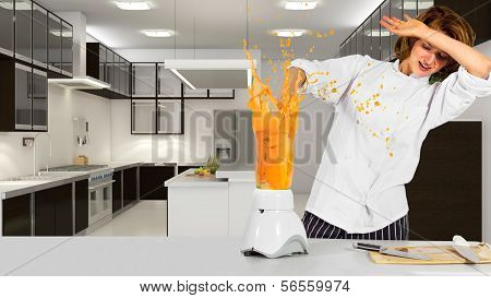 Chef in a Kitchen