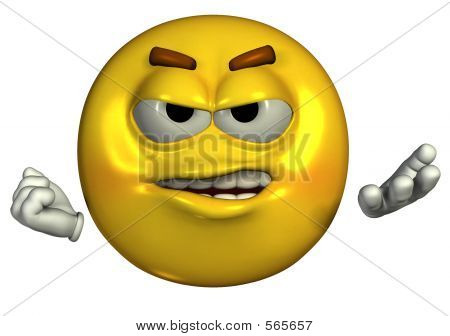 Crabby Emoticon