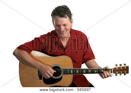 Folk-Sängerin amüsiert