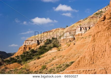 Formations In Palo Duro Canyon