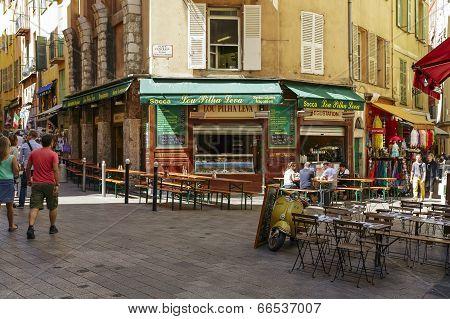 Lou Pilha Leva Restaurant, Nice, France