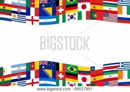 Team Soccer Flag Banner
