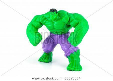 The Hulk From The Hulk Movie