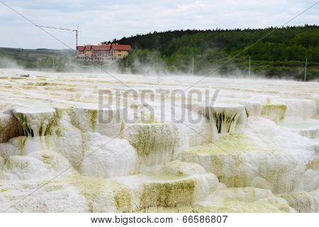 Limestone hill at Egerszalok