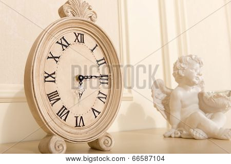Old Mantel Clock
