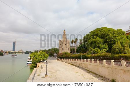 Gold tower in Seville