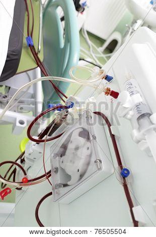 Procedure In Modern Artificial Kidney Machine