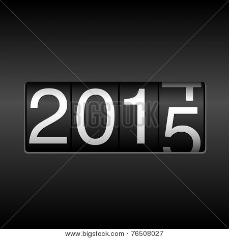 2015 New Year Odometer