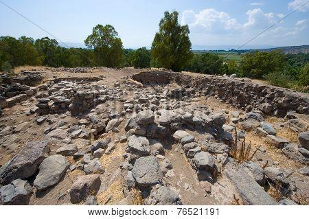 Ruines In Bethsaida