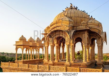 Cenotaphs Of Bada Bagh, King's Memorials