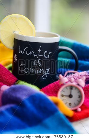Winter Is Coming Tea Time