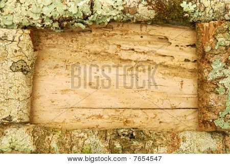 Rustic Wooden Border
