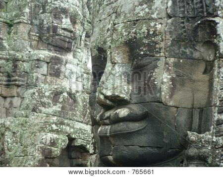 Banyon Temple in Cambodia