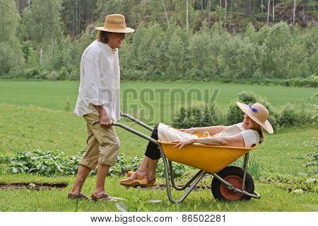 Fun Moment With Seniors