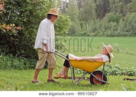 Seniors Having Fun