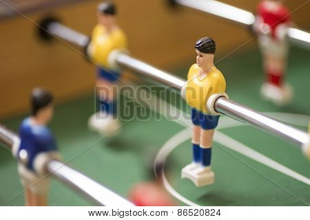 Retro Toy Football Or Soccer Player