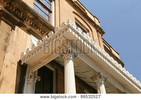Architectural Details in the Historic Area.
